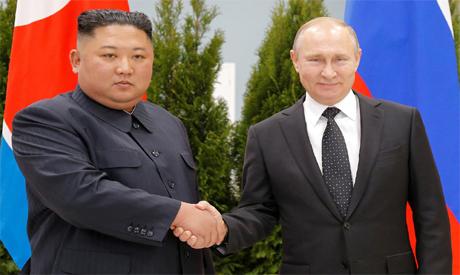 Kim and Putin