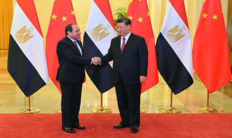 Egypt's Sisi discusses cooperation with Chinese President Xi in Beijing