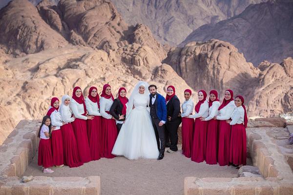 Wedding in Mount Sinai