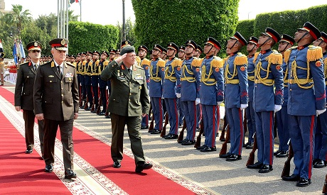 Egypt's army chief of staff discusses boosting cooperation