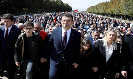 Opposition march in Istanbul