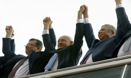 Turkish opposition leaders
