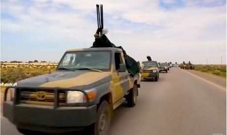 Military vehicles in Libya