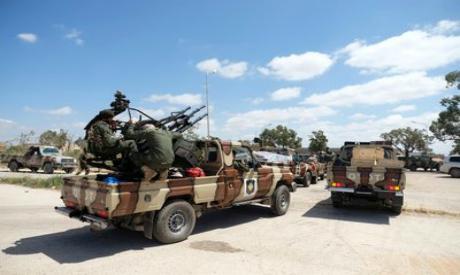 Libyan National Army members