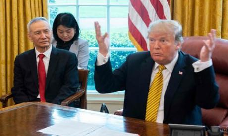 Donald Trump and Liu He