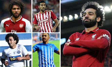 Egyptian players abroad: Salah finishes joint top scorer in