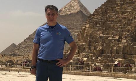 Paolo Nespoli in Egypt