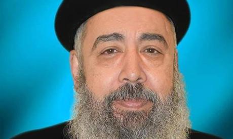 Slain Coptic priest Makkar Saad Makkar who was killed on Monday by Church guard over personal disput