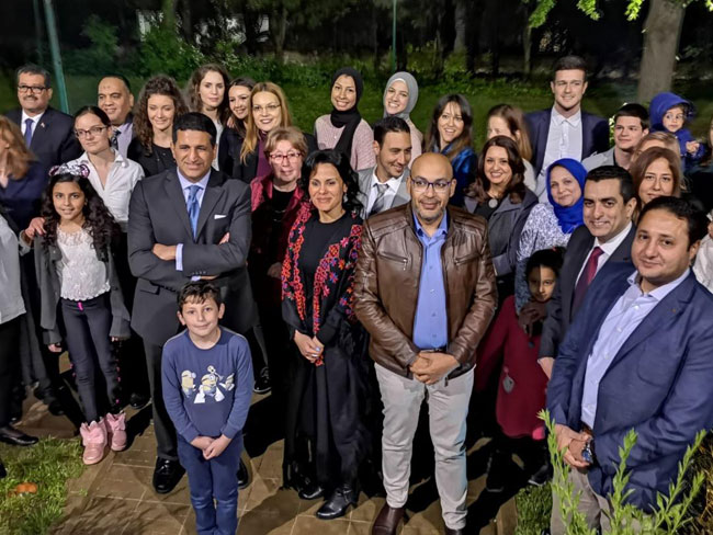 Ambassador Aljowaily hosts Iftar to the Egyptian community in Serbia
