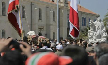 Funeral of Patriarch Cardinal Nasrallah Sfeir