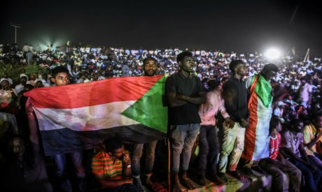 Sudanese protesters