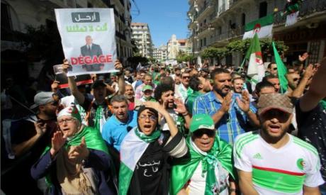 Algeria demonstrators