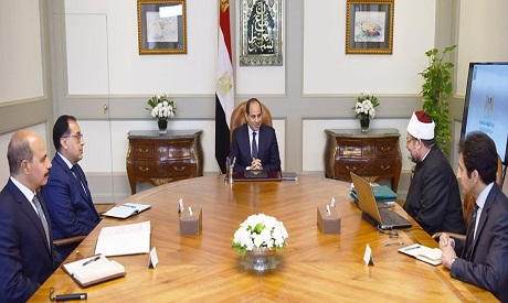 President Sisi and Gomaa