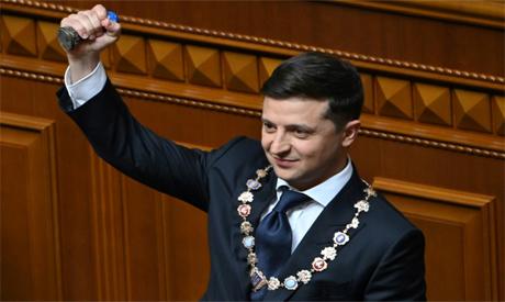 Comedian Volodymyr Zelensky