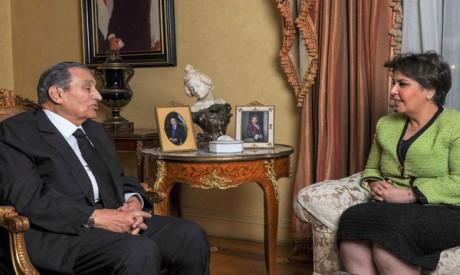 Hosni Mubarak and Fajr Al-Said