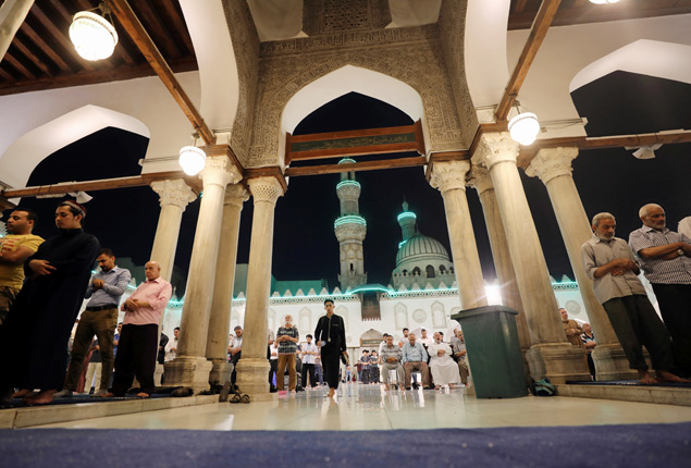 PHOTO GALLERY: Ramadan Tarawih prayers at Al-Azhar