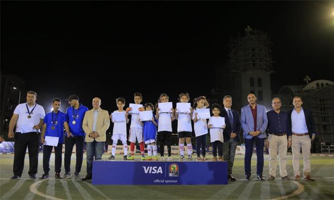 Visa, Egypt's sports ministry, UNICEF Kick off Player Escort Program for AFCON 2019