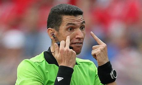 Egyptian referee Gehad Grisha (Reuters)
