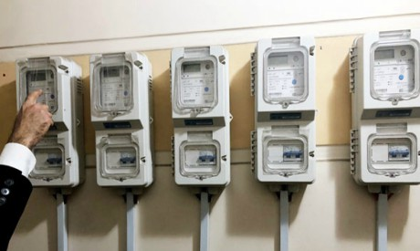 Electricity meters (Al-Ahram)