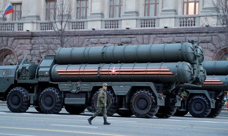 S-400 missile air defence systems
