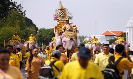 Celebration in Thailand