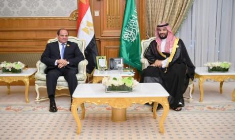 El-Sisi, Mohamed bin Salman