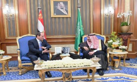 El-Sisi, King Salman