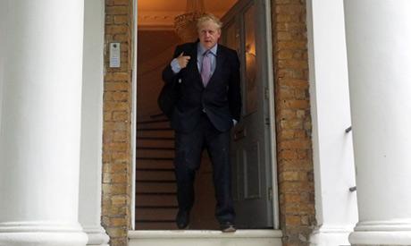 Former British Foreign Secretary Boris Johnson
