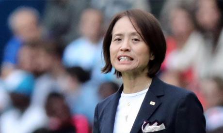 Japan coach Asako Takakura (Reuters)