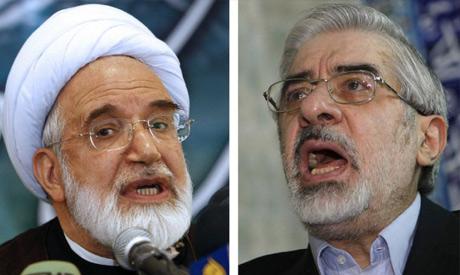 Hossein Mousavi & Mehdi Karroubi