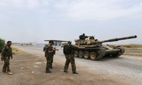 Pro Syrian regime forces