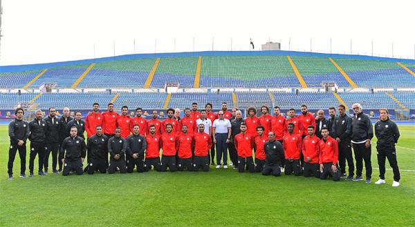 El-Sisi, national team