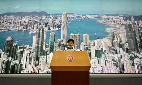 Hong Kong leader