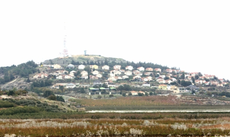 Israeli border town of Metulla