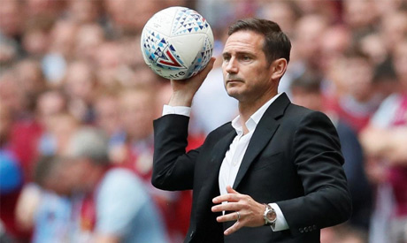 Derby County manager Frank Lampard (Reuters)