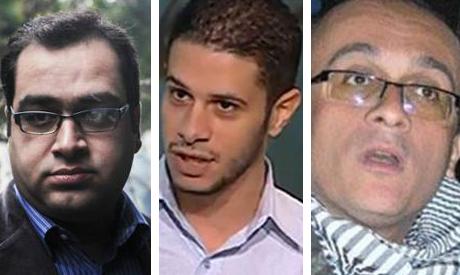 Ziad El-Aleimy, Hossam Moenes and Hesham Fouad Abdel-Aliem