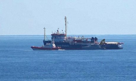 NGO boat
