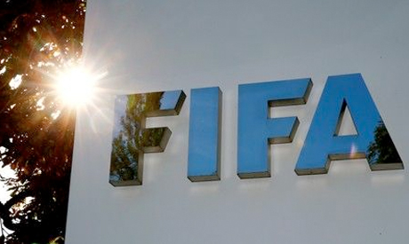 The sun is reflected in FIFA