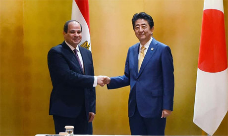 President Sisi with Japan