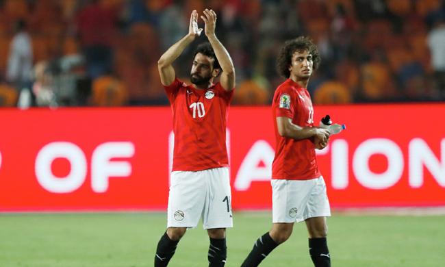 Mohamed Salah and Amr Warda