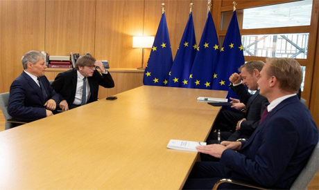 Preparation meeting for EU Summit