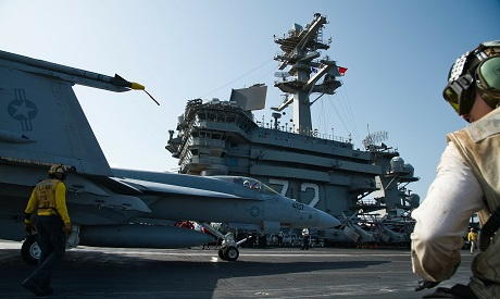 USS Abraham Lincoln aircraft carrier