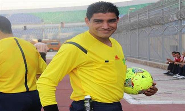 Egyptian referees Nour El-Din