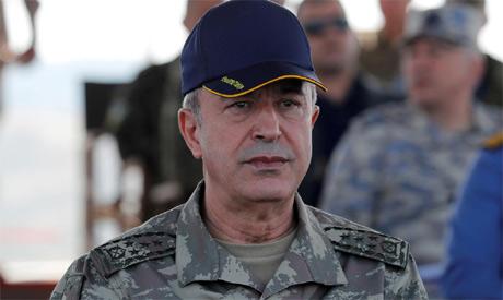 Defense Minister Hulusi Akar