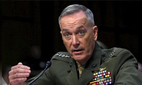 Marine General Joseph Dunford, the chairman of the Joint Chiefs of Staff (Reuters)