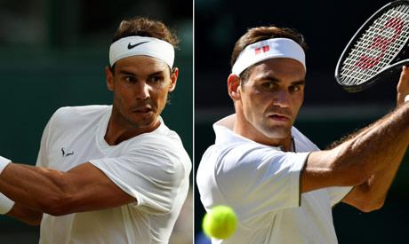Nadal ,Federer