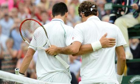 Federer,Djokovic