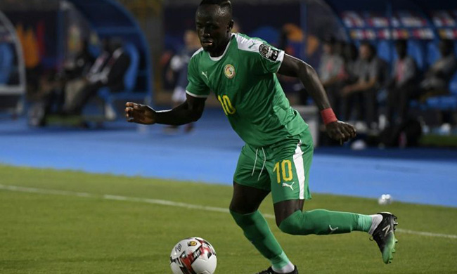 Sadio Mane and Senegal are looking to win the Africa Cup of Nations for the first time (AFP)