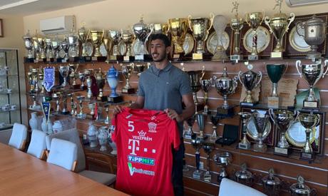 Zamalek player yehya Khaled