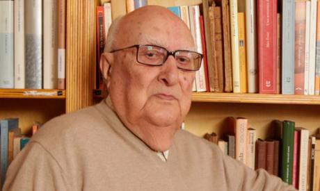 Italian author Andrea Camilleri